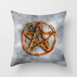 Supernatural devil's trap Throw Pillow