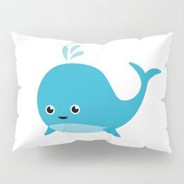 Cute Baby Whale Pillow Sham