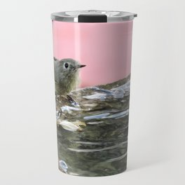 Kinglet at the Basin Rim Travel Mug