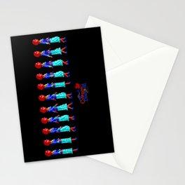 Nancy Maple Walk Cycle - The Crimson Diamond Stationery Cards