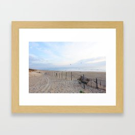Kitesurfing - Hossegor  Framed Art Print