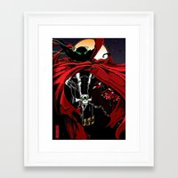 spawn Framed Art Prints featuring Spawn by Shawn Norton Art