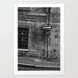 Rue Saint Jean Baptiste, Montreal, 2013 Art Print
