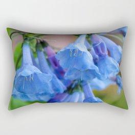 Pop of Blue Rectangular Pillow