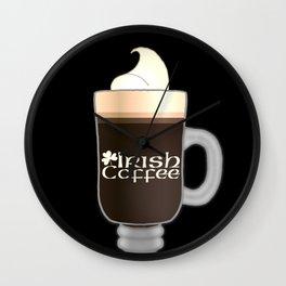 Irish Coffee Wall Clock