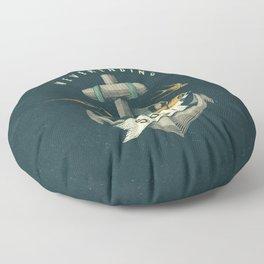 Anchor | Petrol Grey Floor Pillow