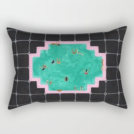 Gatsby pool Rectangular Pillow