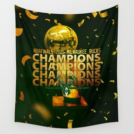 The Deer - Basketball World Champions Wall Tapestry