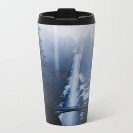 Multnomah Falls II Metal Travel Mug