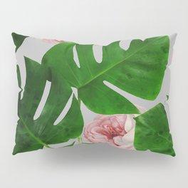 Monstera & Rose Pattern #society6 #decor #buyart Pillow Sham