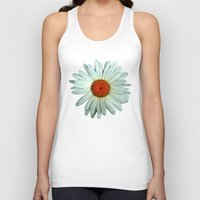 daisies Tank Tops featuring Daisies by BruceLeeVesely