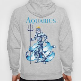 Aquarius Water Zodiac Gift Hoody