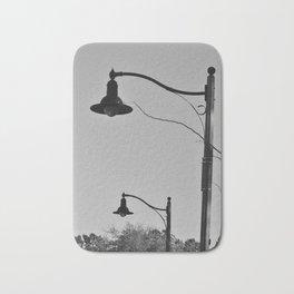 Street Lamps Bath Mat