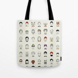 Random People Tote Bag