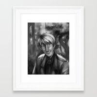 hetalia Framed Art Prints featuring Hetalia print 1 by Milkyol