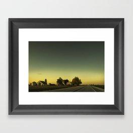By The Riverside #3 Framed Art Print