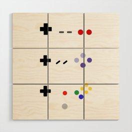 90's gaming Wood Wall Art