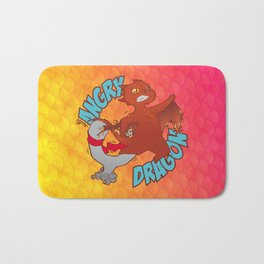 Angry Dragon Bath Mat