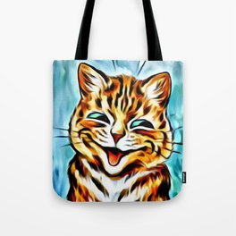 Vintage CATS Felines All-Over Print Tote Bag
