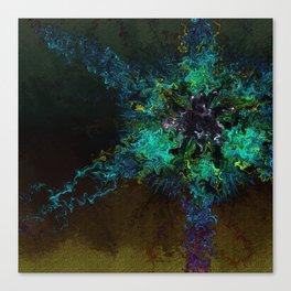 Alien Rose Canvas Print