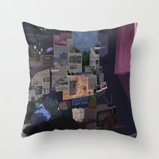 Conspiracy Theorist Throw Pillow