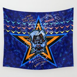 Abstract Drug Life Wall Tapestry