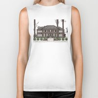home alone Biker Tanks featuring Home Alone Christmas by M. Gulin