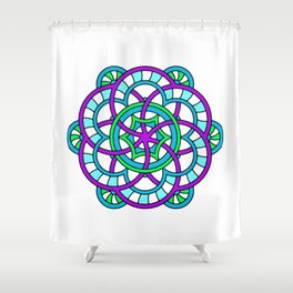 Celtic | Colorful | Mandala Shower Curtain