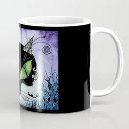 Black Cat Bastet Coffee Mug