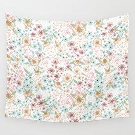 Summer Daisies Wall Tapestry