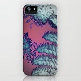 Sunset Ferns iPhone Case