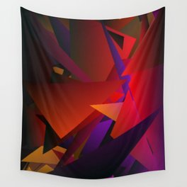 Smoke Screen Abstract 6 Wall Tapestry