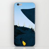 nightcrawler iPhone & iPod Skins featuring Wagner's Tail by modHero