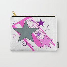 Retro Pop Stars Carry-All Pouch