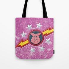 Swinetrek Logo Glitter Poster Tote Bag