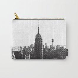 Halftone New York Skyline Carry-All Pouch