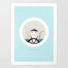 I'm Popeye the sailor Art Print