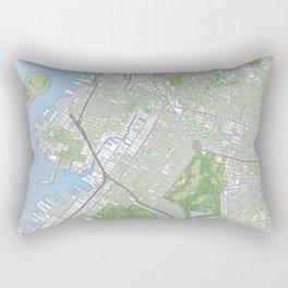 Central Brooklyn Rectangular Pillow