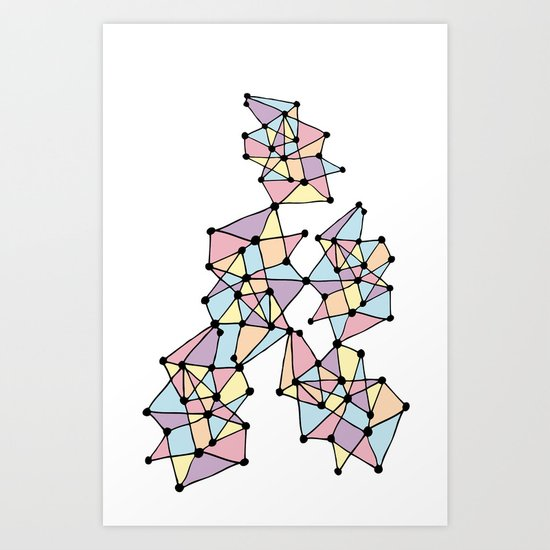 Connecting Dots Art Print