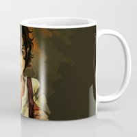 leo Mugs featuring Leo by viria