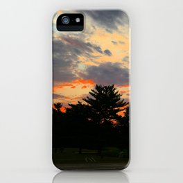 Fire In her Eyes iPhone Case