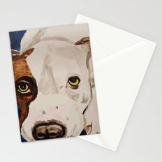 Pit Bull Portrait Stationery Cards