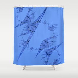 Fractal 85 Shower Curtain