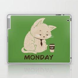 Monday Cat Laptop & iPad Skin