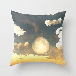 Evening Rise Throw Pillow