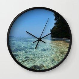 Pulau Vibes vers.2 Wall Clock