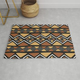 African mud cloth Mali Rug