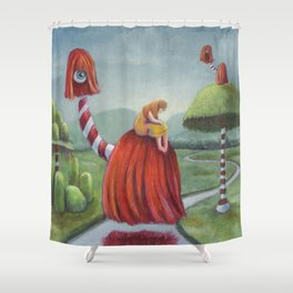 Mystic Voyage Shower Curtain