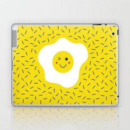 Eggs emoji Laptop & iPad Skin