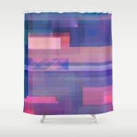 uk Shower Curtains featuring UK by Fernando Vieira